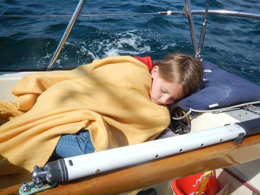 Und schon ist sie eingeschlafen