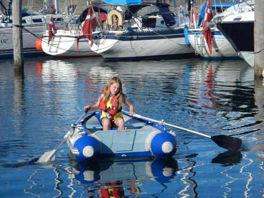 Schlauchbootfahren