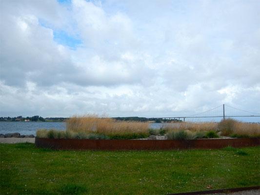 """Blick von Middelfart """"Waterfront"""" gen Nordwesten"""