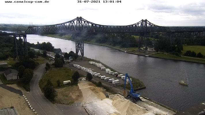 Und das schon altbekannte Rendsburg-Brücken-Selfie