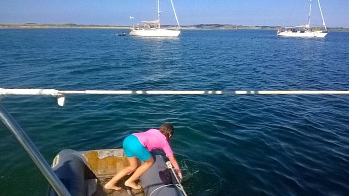 Jedem/r sein/ihr eigenes Schlauchboot