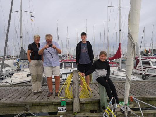 Windspiel Crew- Abschiedsfoto