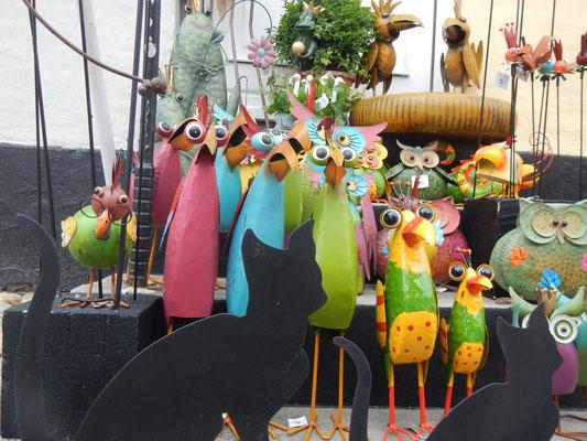 Lustige Blechvögel
