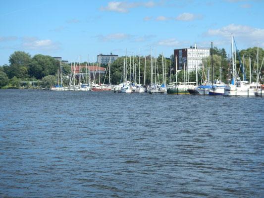 Hafen der Regattavereinigung Rendsburg - RVR