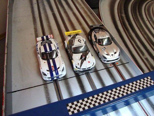 Woody´s Viper, Felix´ BMW und Anton´s Viper