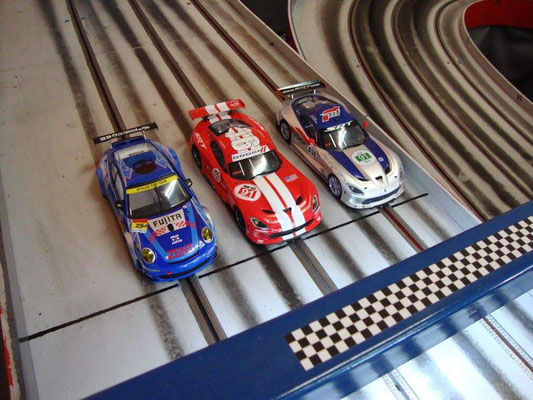 Mario´s Porsche, Franz´ Viper und Somon´s Viper
