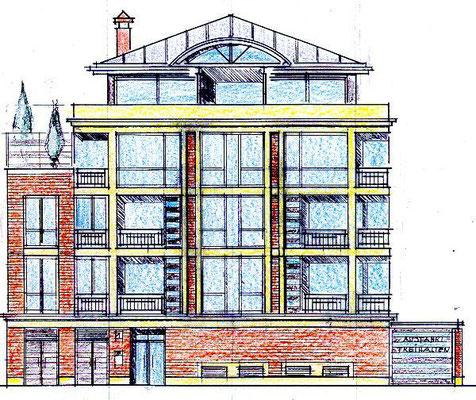 BS, östliche Ringgebiet Verkauf Penthouse aus Bauvorhaben