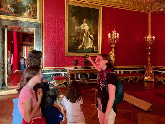 Private tour guide Versailles chateau