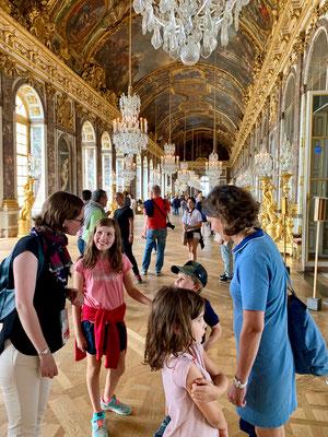 Family tour Versailles