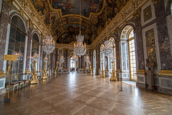 Hall of Mirrors guided tour Versailles