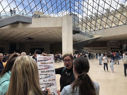 Family tour Paris Louvre museum