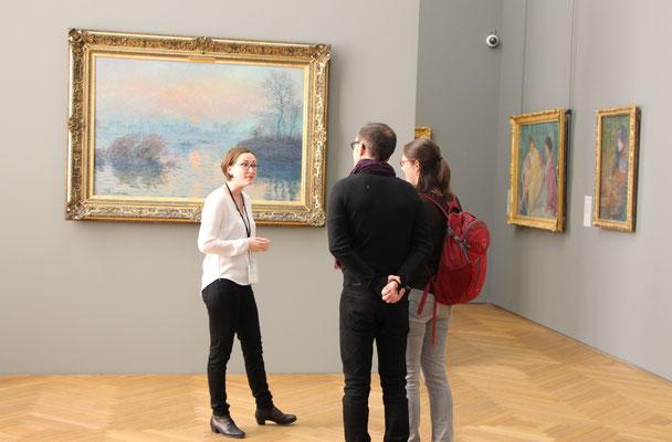 Private tour guide museum Paris