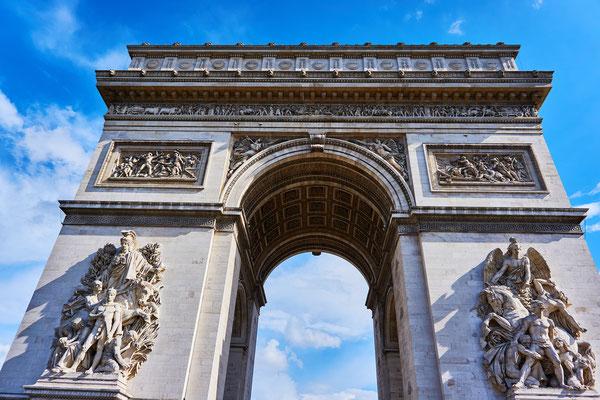 Guided tour Arch of Triump Paris