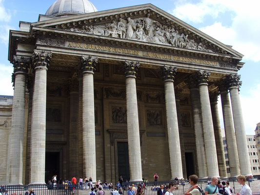 Guided tour Pantheon Paris