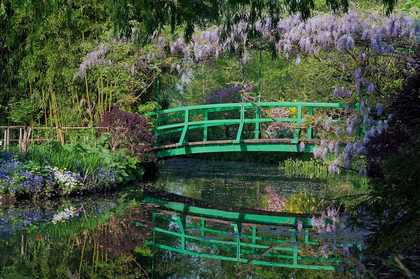 Half day to Giverny Monet's gardens