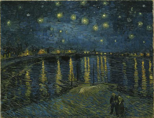 Guided tour Vincent Van Gogh Starry night