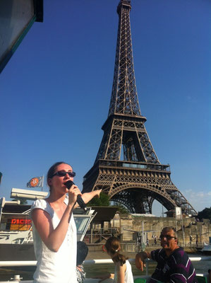Private tour guide Paris landmarks