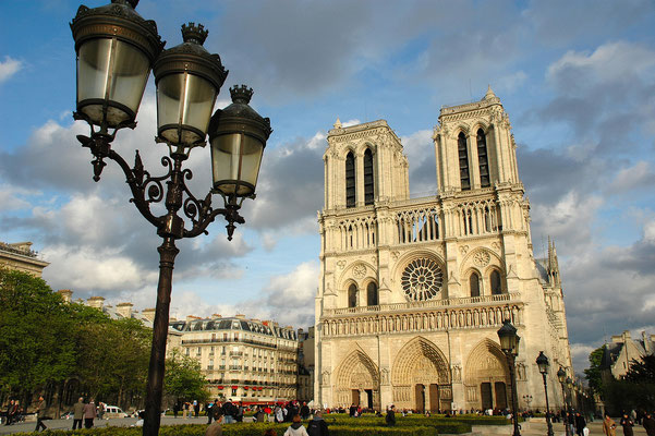 Live guided tour online Notre dame Cathedral