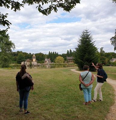 Marie Antoinette estate Trianon guided tour