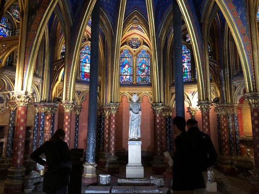 Guided tour Holy chapel Paris