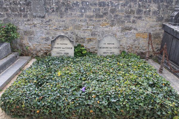 Half day tour to Van Gogh house Auvers cemetery