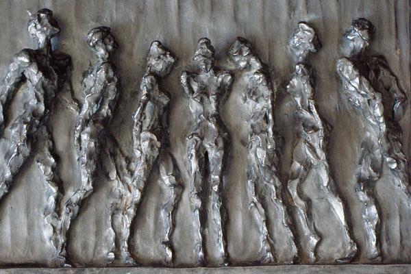 """""""Luce II"""" - Rilievo bronzo, dim. 49 / 35 cm"""