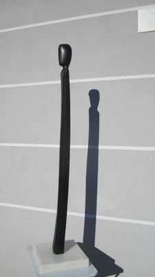 """""""Figura filiforme"""" - Rovere annerito, h = 113 cm"""