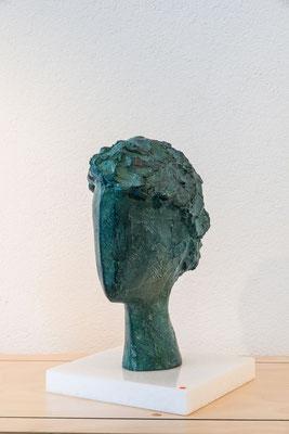 """Testa di giovane"" - Bronzo, h = 28.5 cm"
