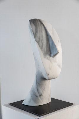 """""""Testa di Aspetto Cicladico"""" - Carrara, h = 58 cm"""