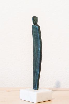 """""""Personaggio filiforme"""" - Bronzetto, h = 17.5 cm"""