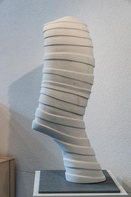 """""""Testa Bendata"""" - Statuario Carrara, h = 85 cm"""