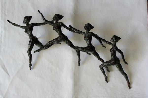 """""""Movimento"""" - Bronzo, dim. 62 / 27 cm"""