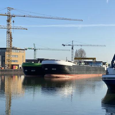Casco's MTS Ommoord en MTS Sardonyx aangekomen in Nederland