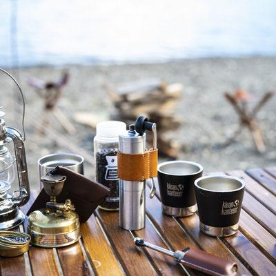 コーヒーミル レザーハンドルホルダー