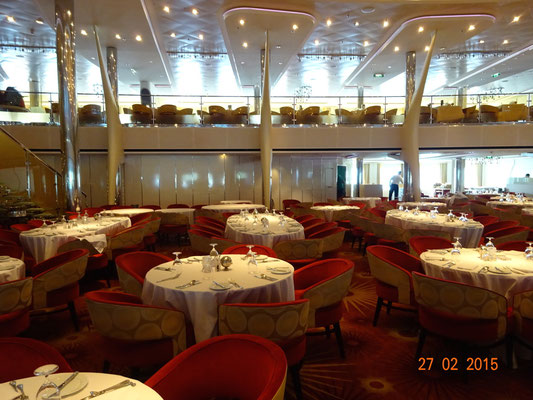 Celebrity Silhouette - Luminae Suite Dining Project