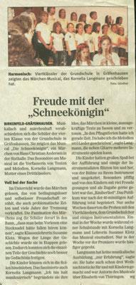 Pforzheimer Zeitung Juli 2009
