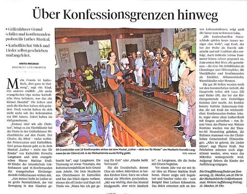 Pforzheimer Zeitung 06.10.2017