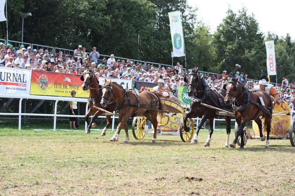 Römerwagenrennen Marché-Concours National de Chevaux, Saignelégier