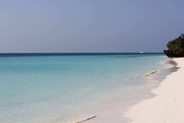 Bester Strand auf Sansibar