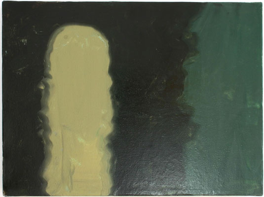 Bogen, Öl auf Leinwand 2001, 30 x 40 cm