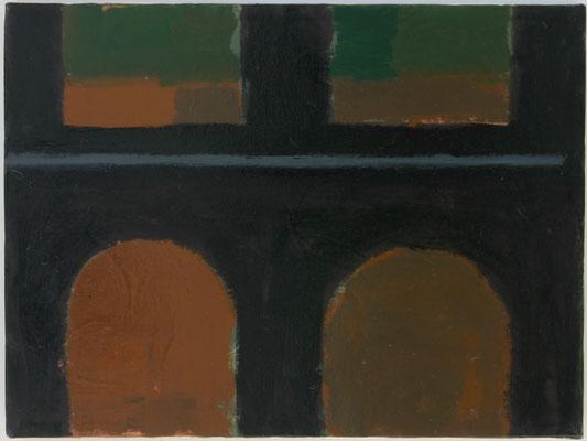 Detail, Öl auf Leinwand 2001, 30 x 40 cm