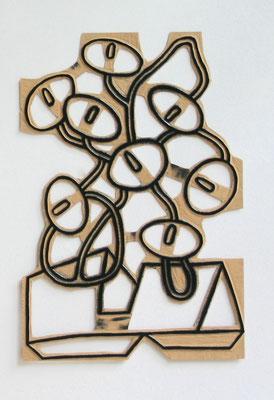 Pidder Auberger, Druckstock 185 CALLAS, Edition  ORWELSKIJS, 2003 (Edition Galerie Haus Schlangeneck)