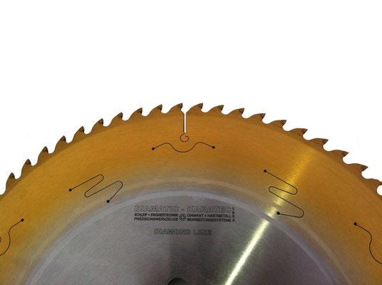 KARATEC PKDia Kreissägeblatt mit zusätzlicher Beschichtung (Hybridwerkzeug)