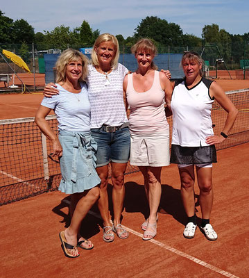 Damen 50 (8-er-Feld): Siegerin Dagmar Winzig (TC Gehrden / NRW)