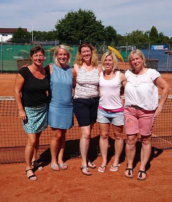 Damen 40 (5-er-Feld): Siegerin Tanja Oldenburg (TuS Hartenholm)