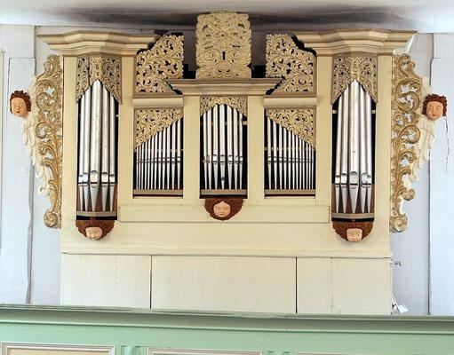 Wohnfeld - Orgelbauer unbekannt, 18. Jhd, I/7
