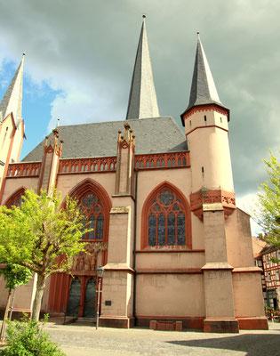 Liebfrauenkirche Schotten, Westseite. Foto: Archiv