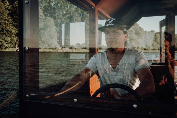 hausboot auf der mecklenburgischen seenplatte - von florian paulus
