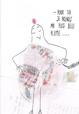Pour Toi, Aquarelle 15X25