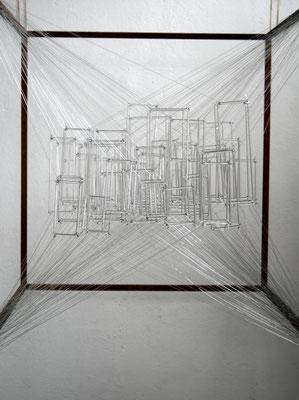 """""""Utopia"""", 2014, Glas Nylon Stahl"""